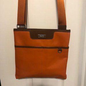 Tumi Leather Cross-Body Bag